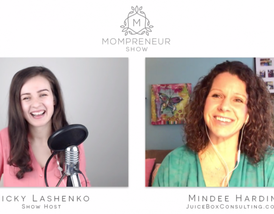 Mindee-Hardin-of-Boogie-Wipes-on-the-Mompreneur-Show-with-Vicky-Lashenko
